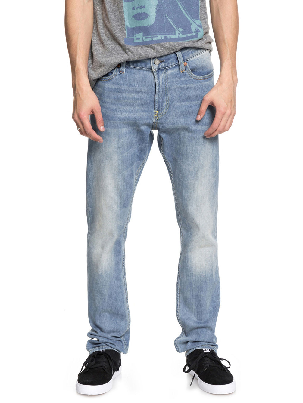 Worker Slim Stretch Light Bleach Vaquero