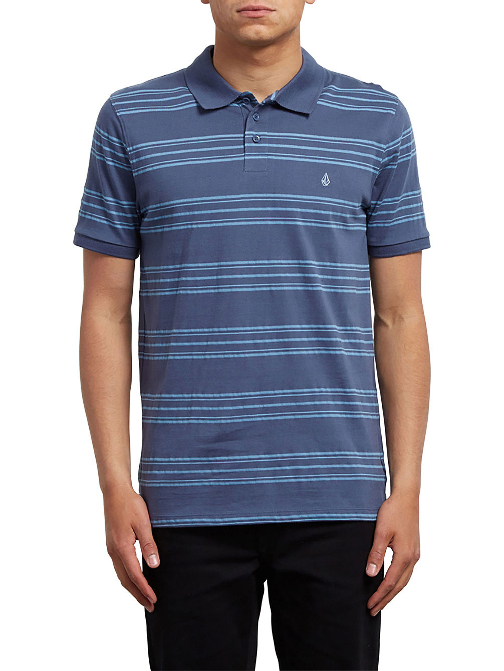 Wowzer Stripe Polo