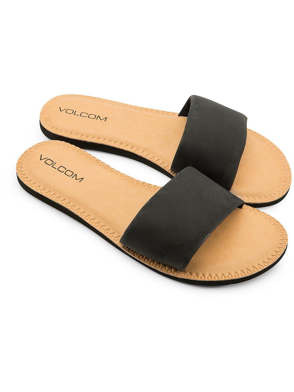 Volcom Simple Slide Sandals noir