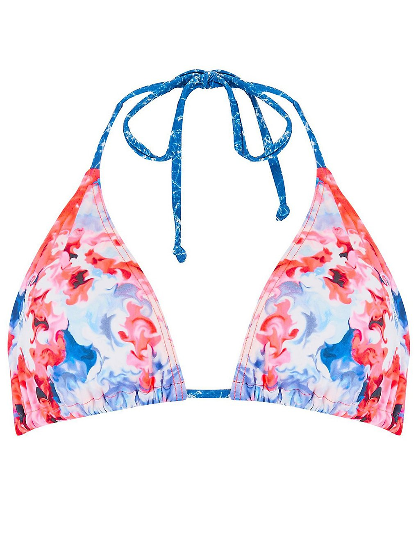 Image of Animal Peachia Triangle Bikini Top