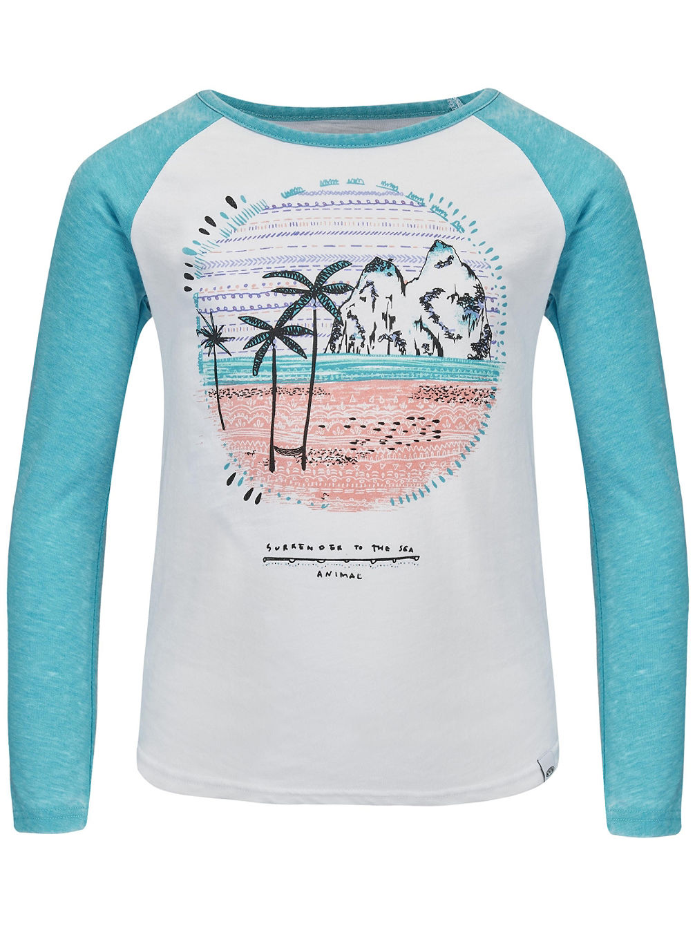 Mags T-Shirt LS Girls