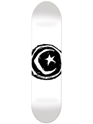 "Foundation Star And Moon White 8.25"" Skate Deck"