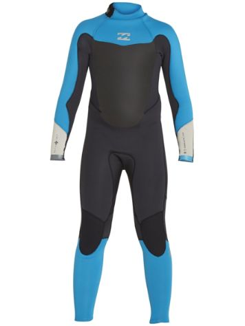 Billabong 3/2 Absolute Back Zip Flatlock Wetsuit B
