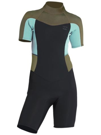 Billabong 2/2 Synergy Back Zip Spring Wetsuit Boys