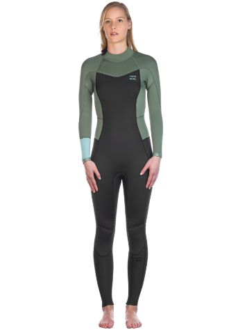 Billabong 3/2 Synergy Back Zip Flatlock Neoprenanzug