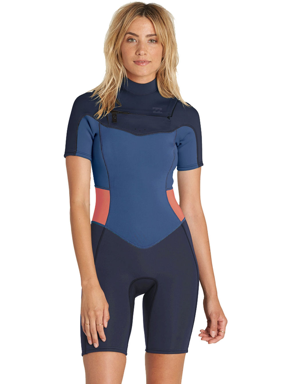 Buy Billabong 2 2 Synergy Chest Zip Spring Wetsuit online at blue ... 9d5e666bd