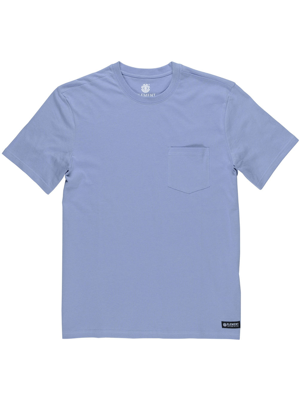 Basic Pocket Crew Pastel T-Shirt