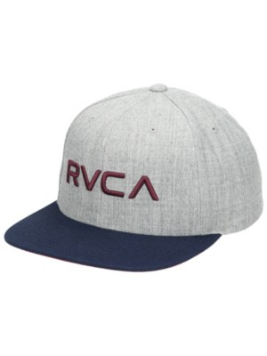 RVCA RV Twill Snapback III Cap heathr gry blue Gr. Uni