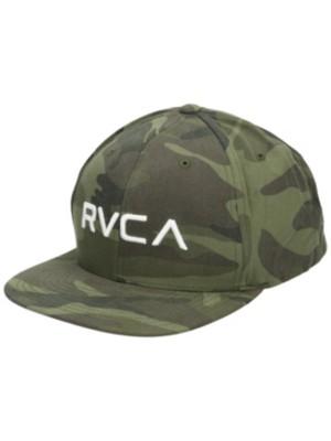 RVCA RV Twill Snapback III Cap olive camo Gr. Uni