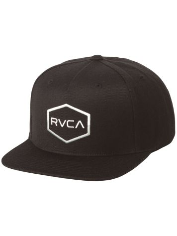 RVCA Commonwealth 3 Snapback Cappello