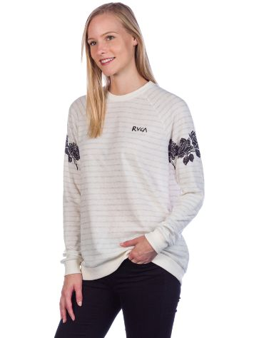 RVCA Oblow Roses Sweat