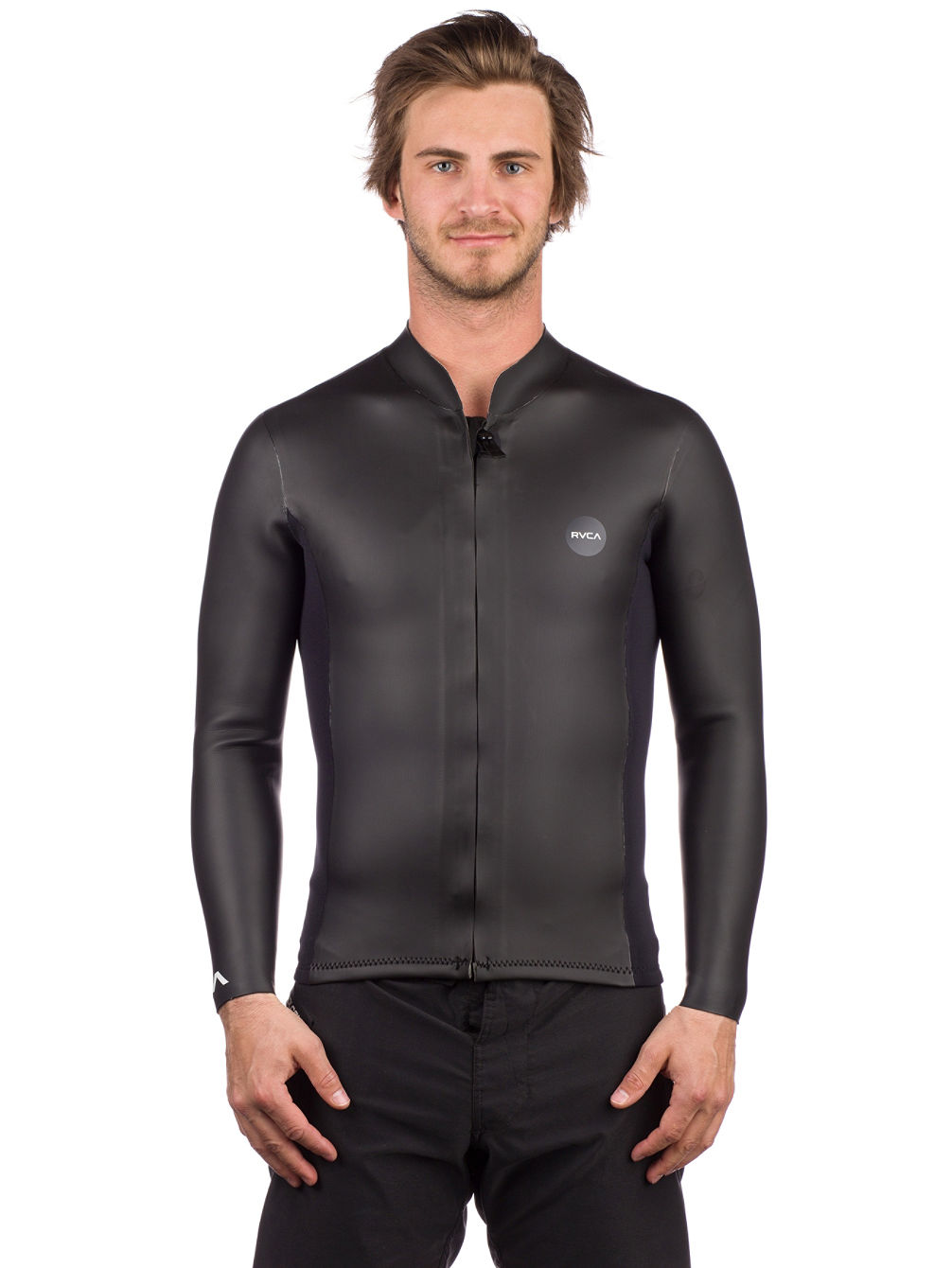 Front Zip Smoothie Rash Guard LS