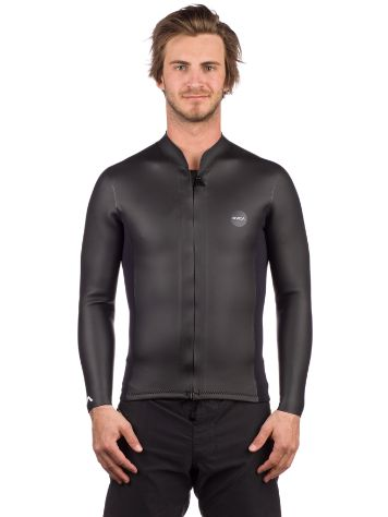 RVCA Front Zip Smoothie Longsleeve Rash Guard