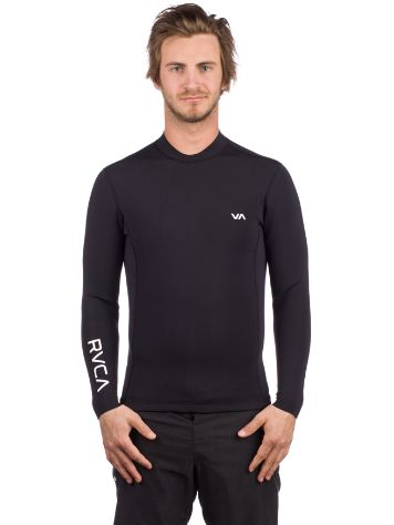 RVCA Back Zip Rash Guard