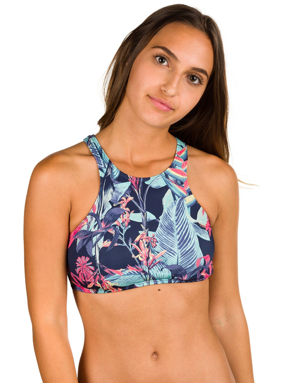 Prt Essentials Crop Bikini Top