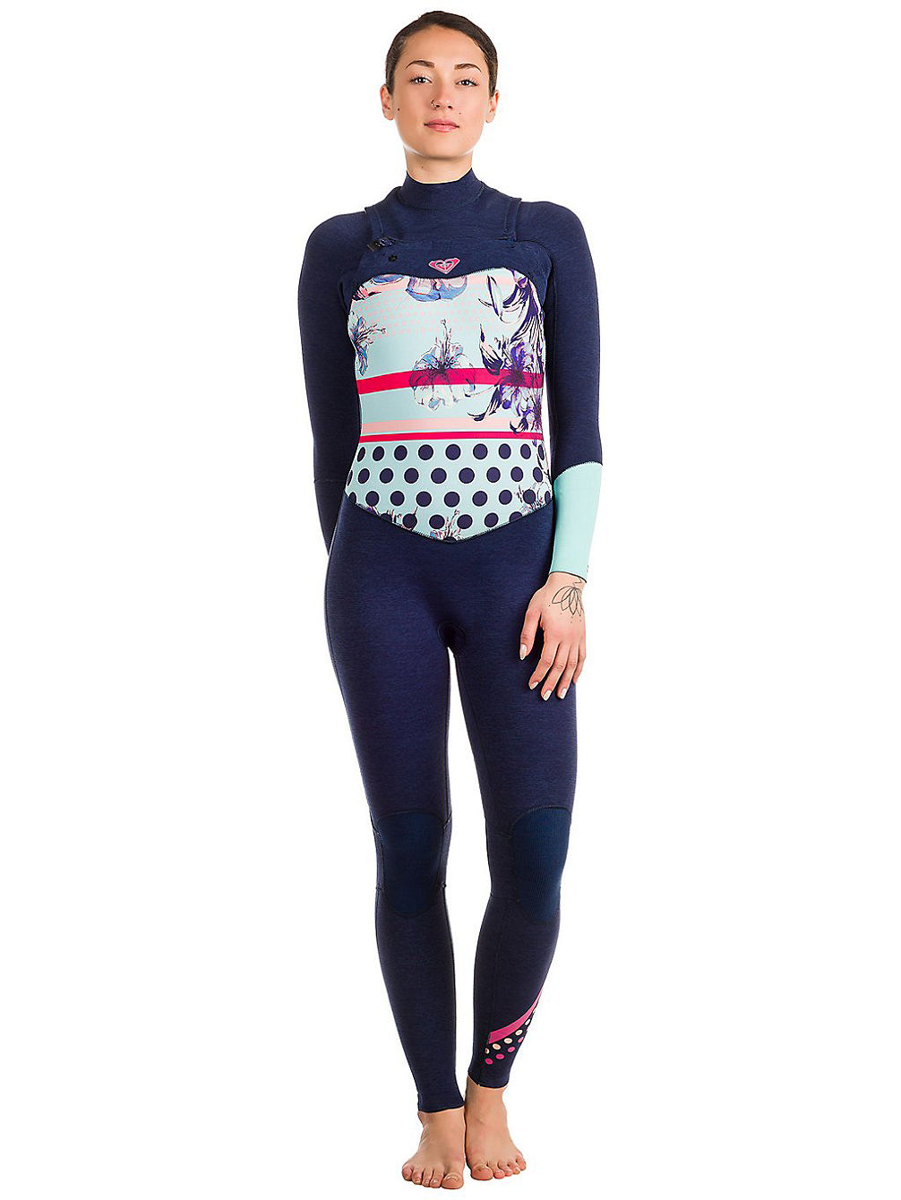 Buy Roxy 3 2 Pop Surf Front Zip Gbs Wetsuit online at blue-tomato.com 4312eb037