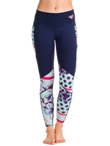 Roxy 1/1 Pop Scalop Capri Flt Surf Leggings