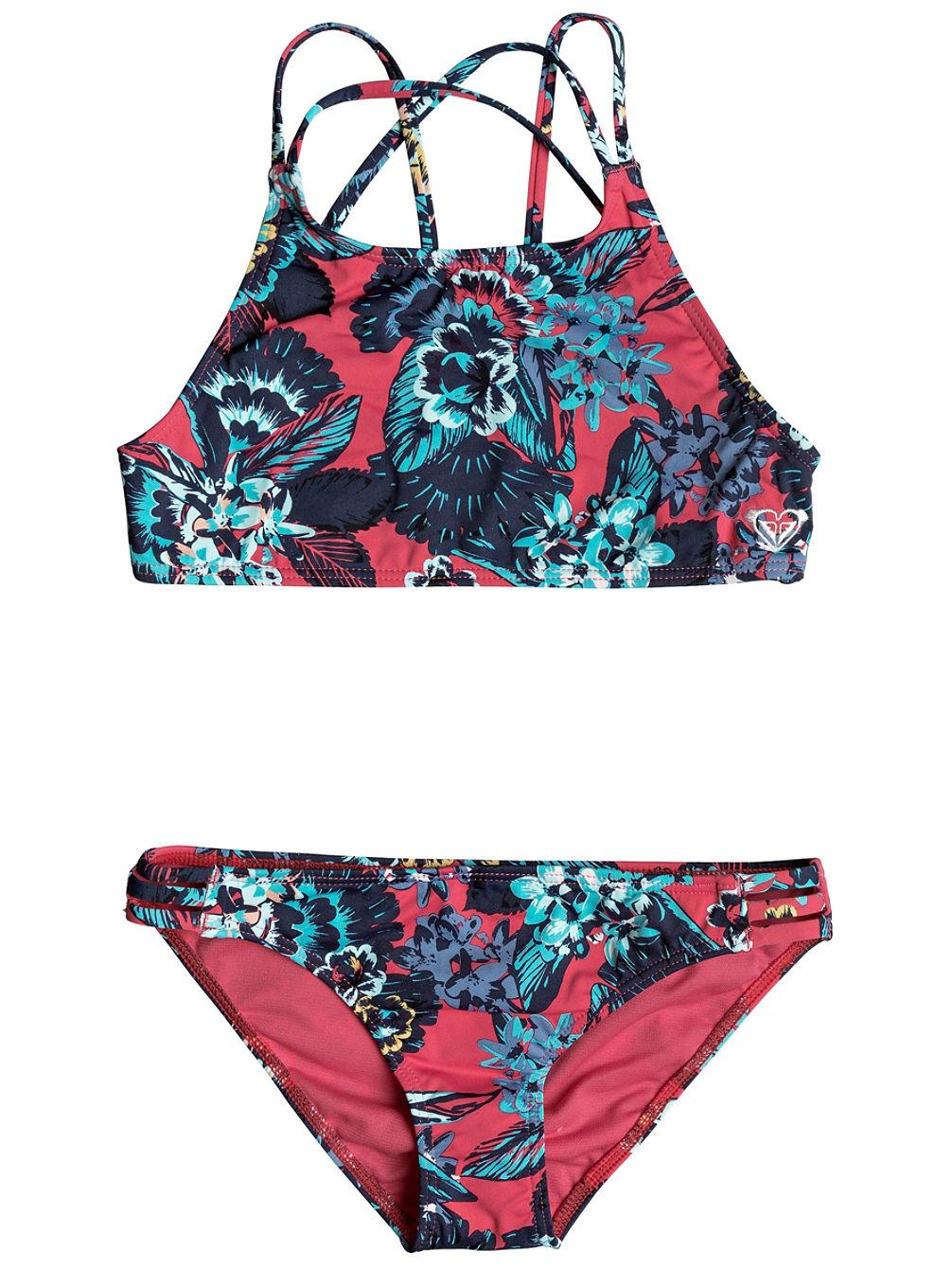 Köp Roxy Let The Surf Crop Top Set Bikini flicka online på blue-tomato.com ef50227e0112e