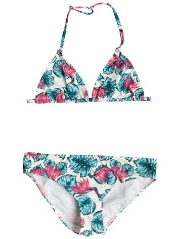 Roxy Beach Days Tiki Tri Set Bikini Girls
