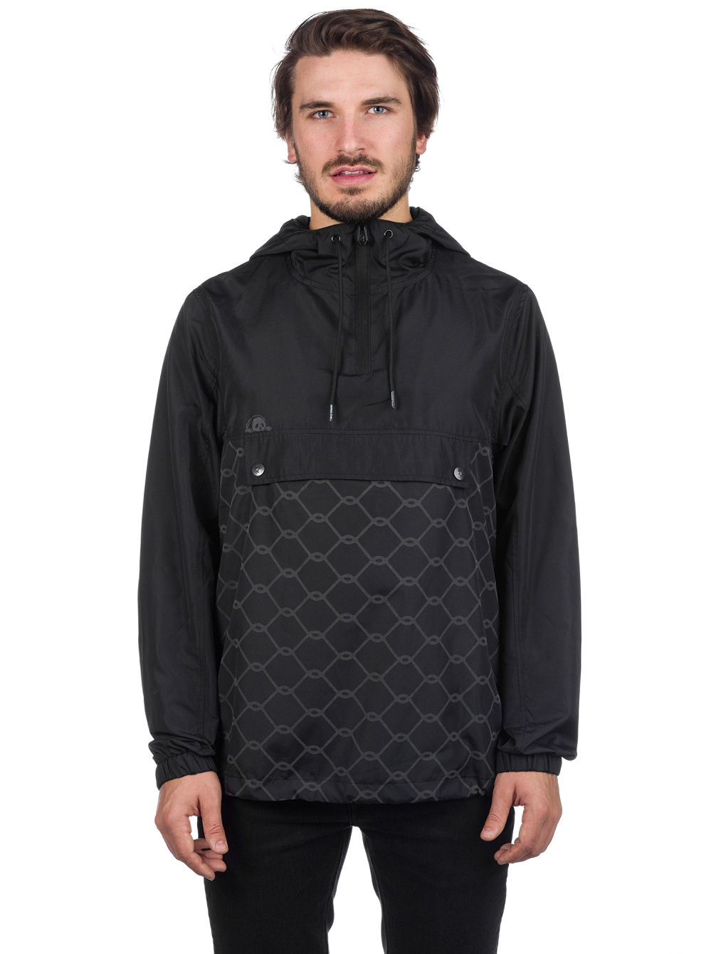 Chain Link Anorak Jacket