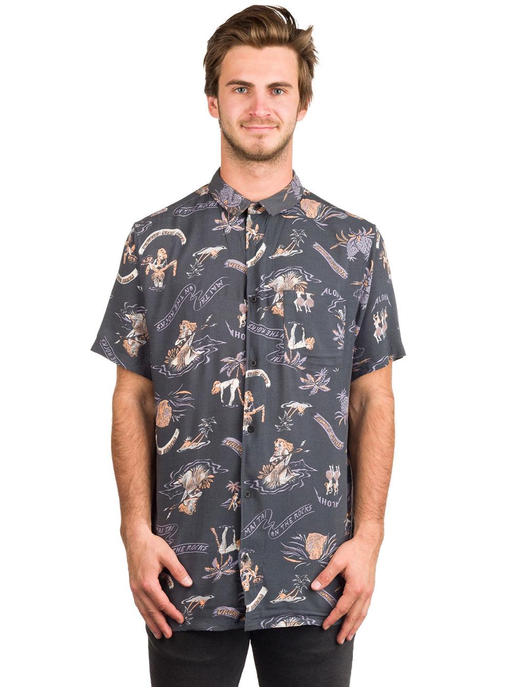 Aloha Strip Club Hemd. Quiksilver