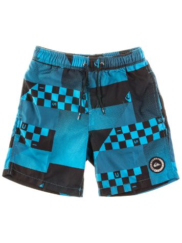 "Quiksilver Checker Remix Volley 15"" Boardshorts Boy"