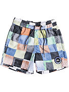 "Resin Check Volley 12"" Boardshorts Boys"