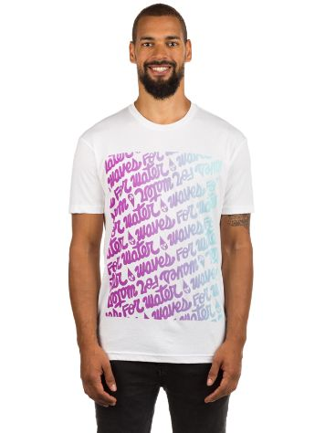 Waves For Water Thomas Campbell Grid T-Shirt