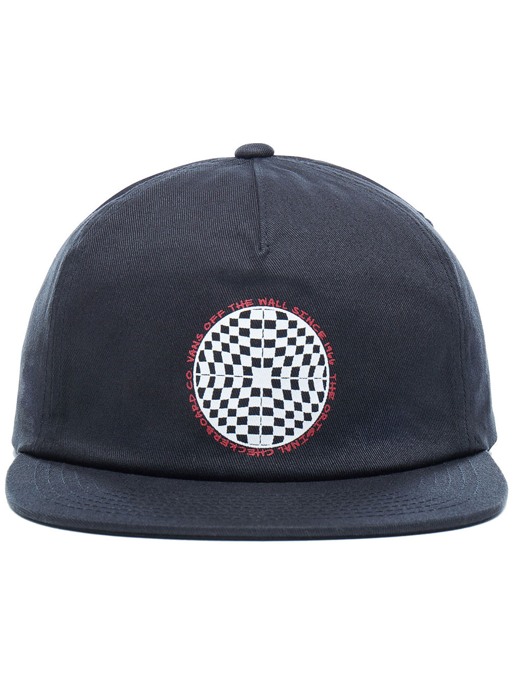 Checkered Shallow Unstructured Cap
