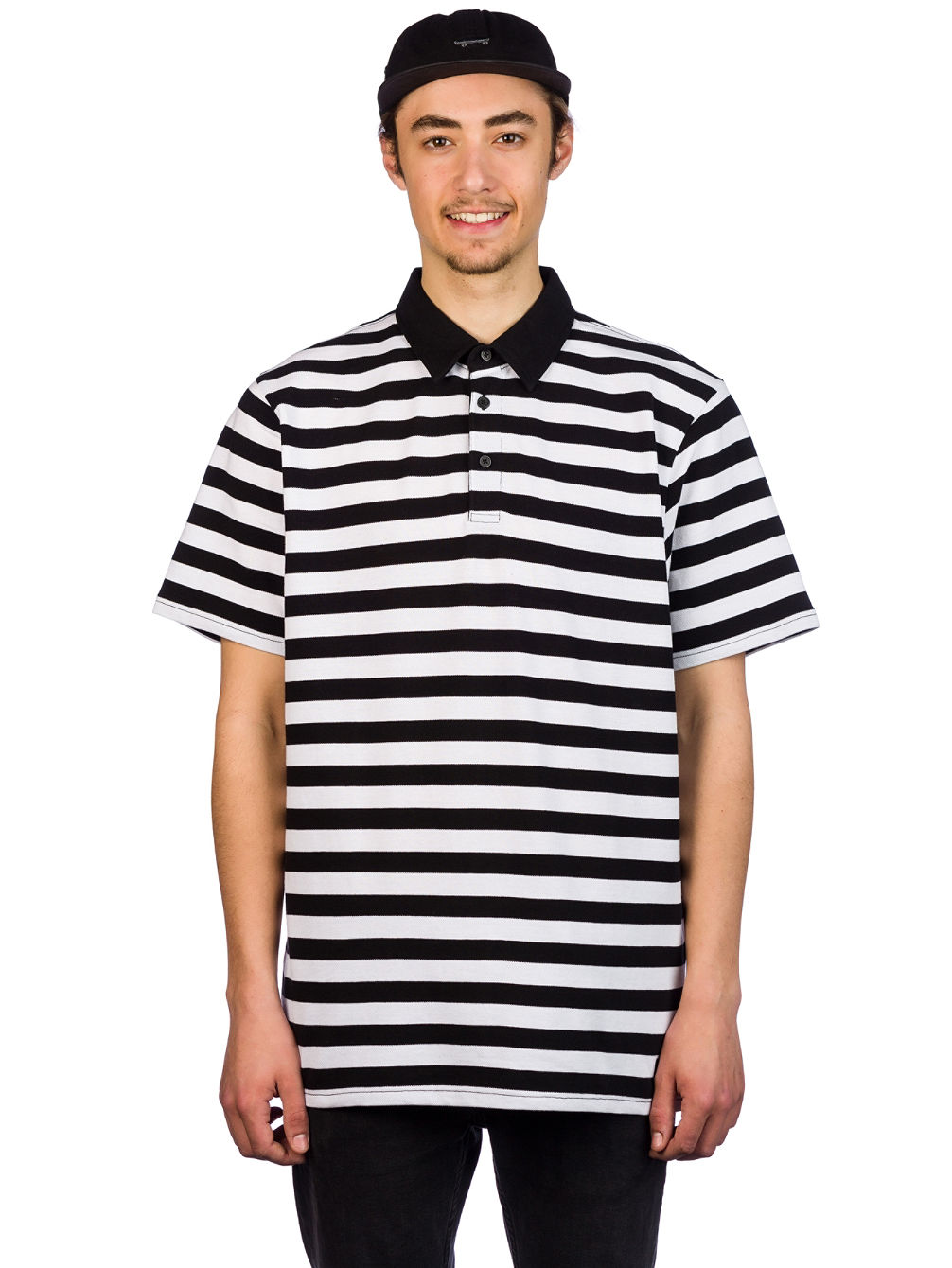 60803be090 Buy Vans Chima Striped Polo online at Blue Tomato