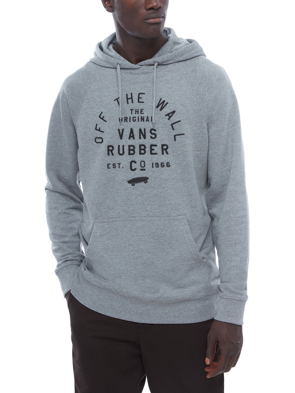 Stacked Rubber Hoodie