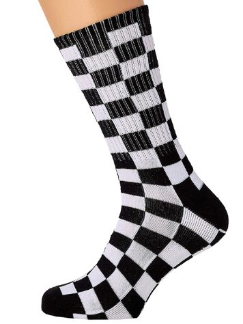 Vans Checkerboard II Crew (6.5-9) Chaussettes