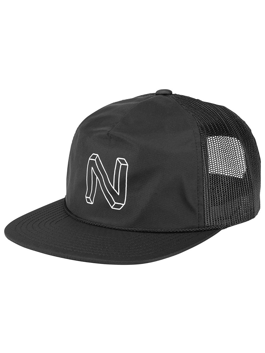 Crater Split Mesh Trucker Cap