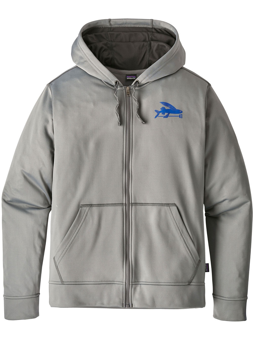 Small Flying Fish Full Zip Hoodie