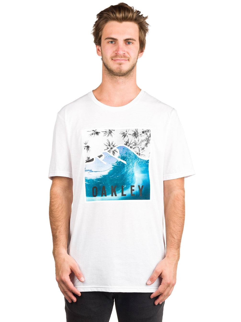 50-Palm Waves T-Shirt