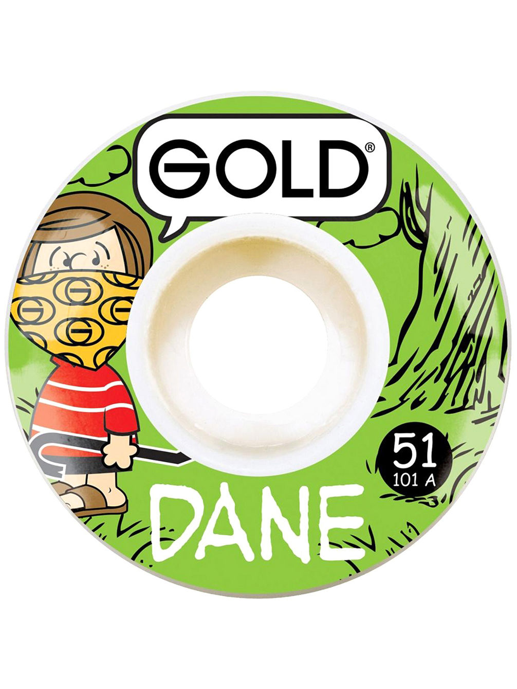 Dane Gang 51mm Wheels