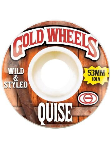 Gold Wheels Marquise Woods 53mm Rollen