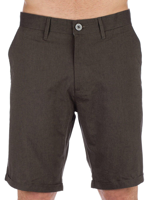 Iriedaily Golfer Chambray Shorts d olive