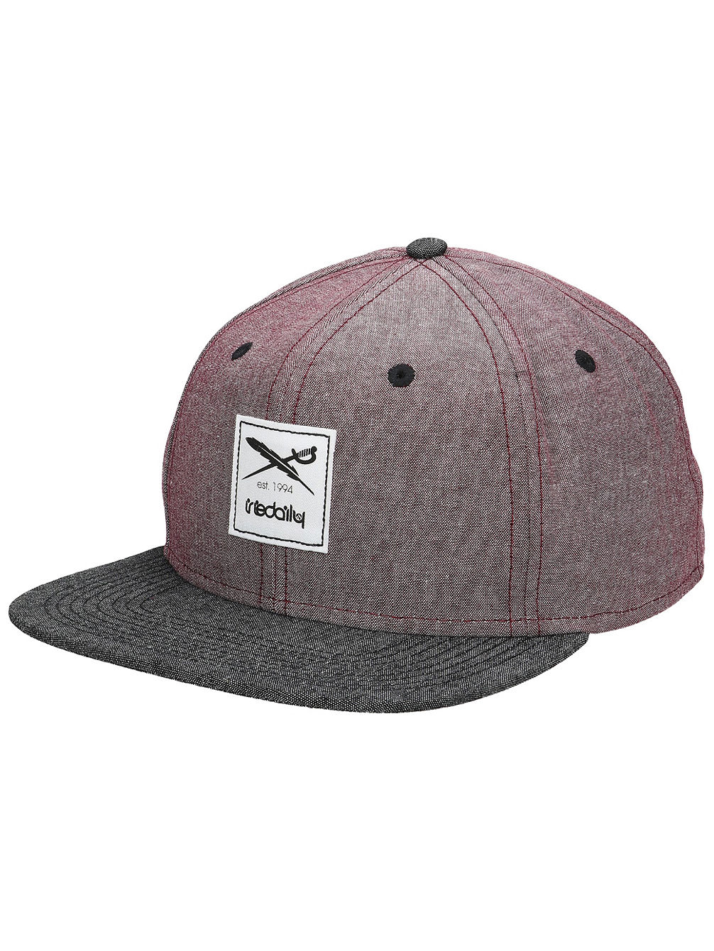 Flag Chambray Snapback Cap