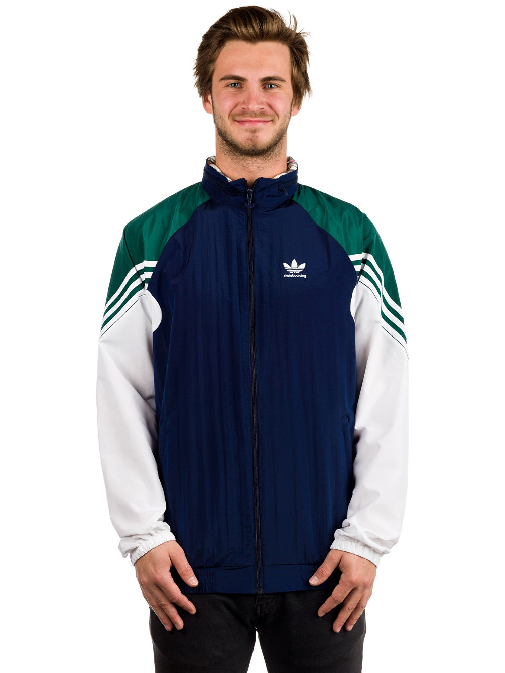 Lightweight Full Zip Tracktop Jacket
