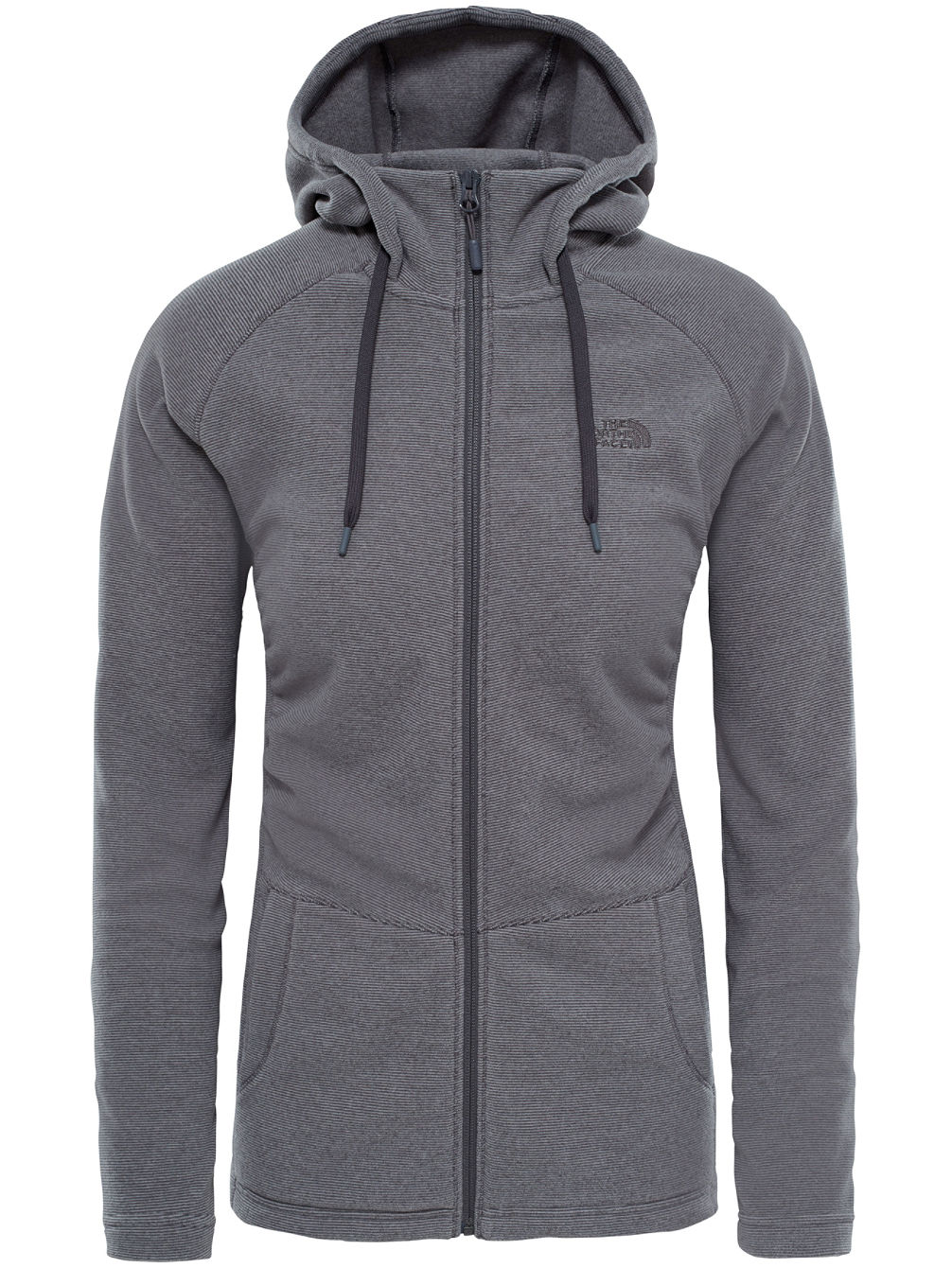 Mezzaluna Hooded Fleece Jacket