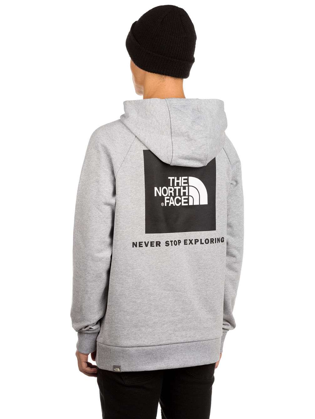Buy THE NORTH FACE Raglan Red Box Hoodie online at blue-tomato.com 0e39031137fc