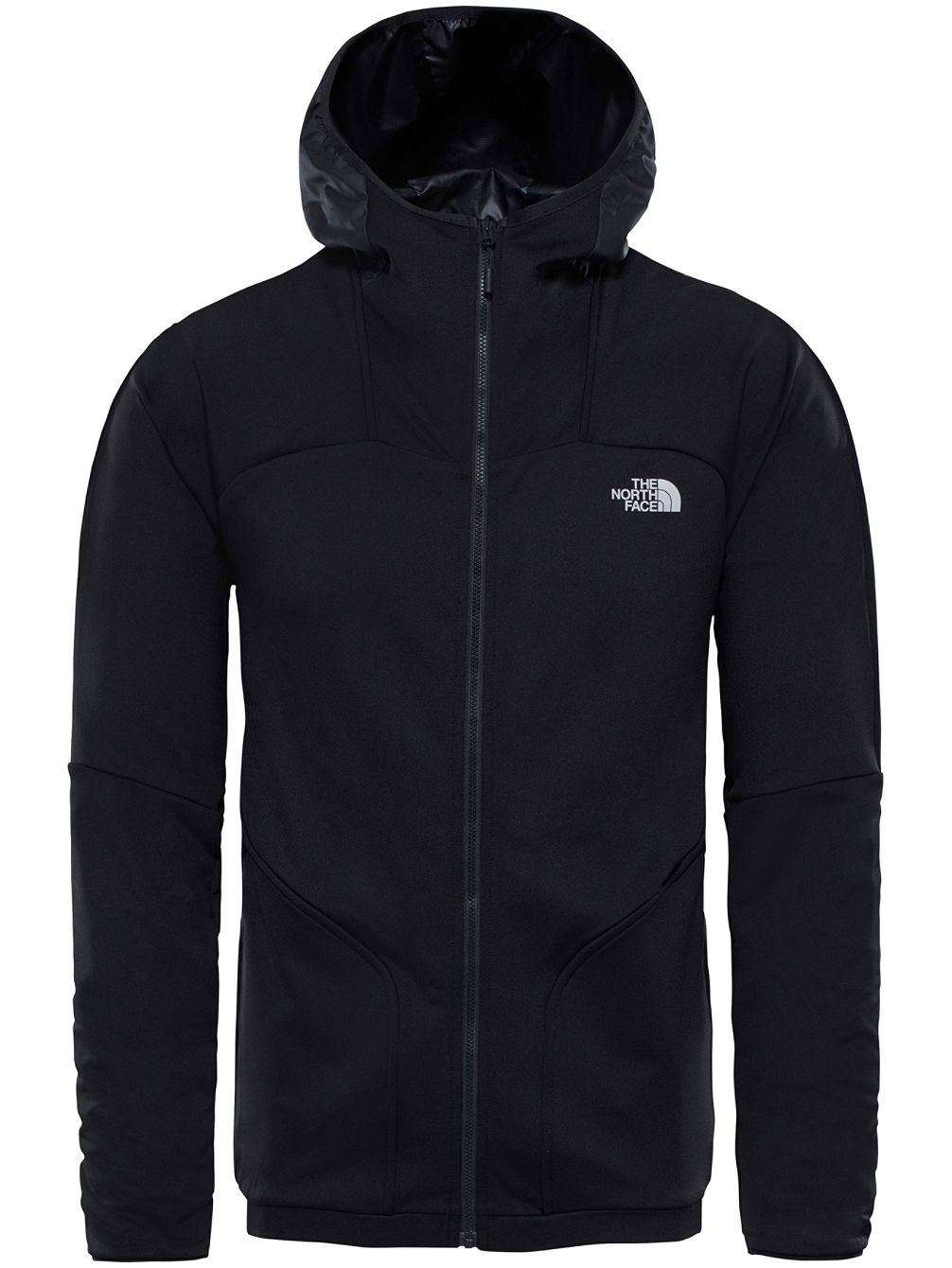 Purna Stretch Hooded Fleece Jacket