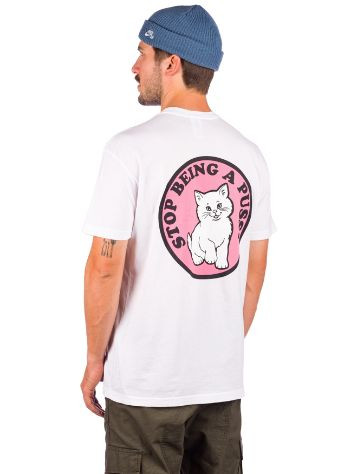 RIPNDIP Stop Being A Pussy T-Shirt