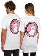 Stop Being A Pussy Camiseta