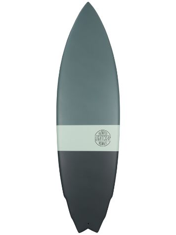 Light Truvalli Fish Epoxy Future 6.2 Surfboard