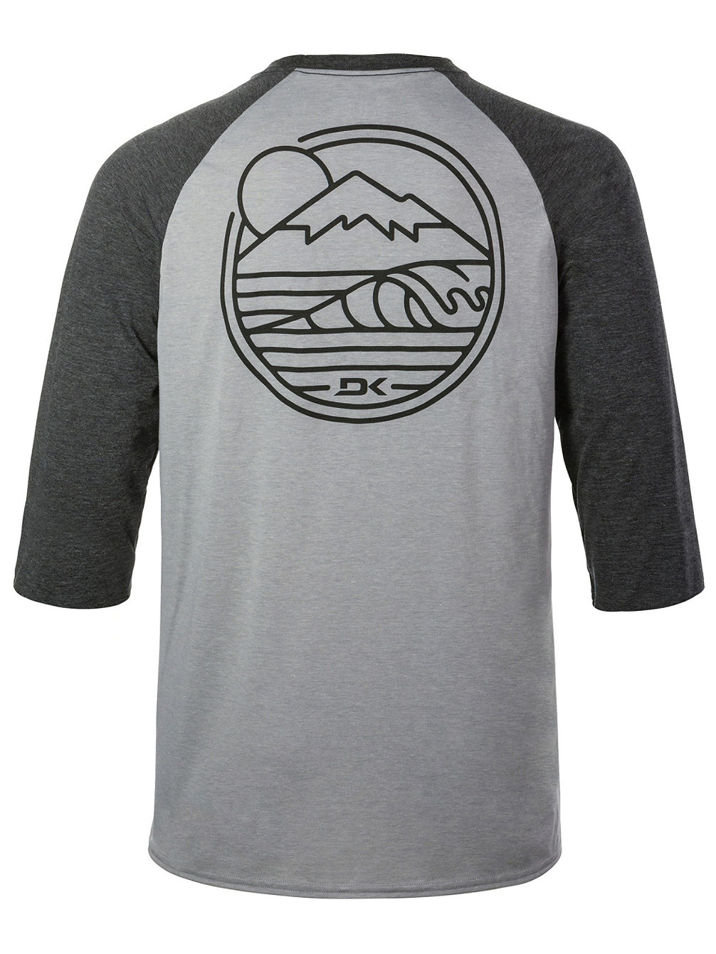 Well Rounded 3/4 Raglan Tech Tee LS