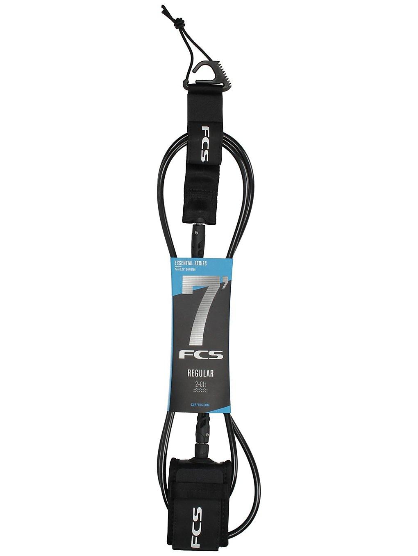 Image of FCS 7' Regular 7mm Leash Black