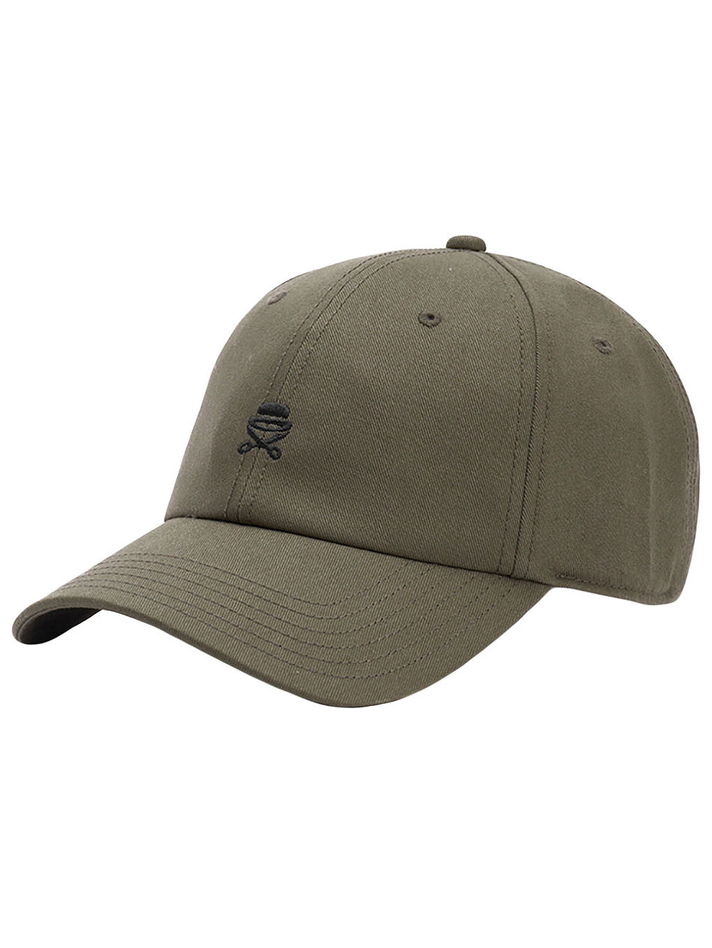 Small Icon Curved Cap
