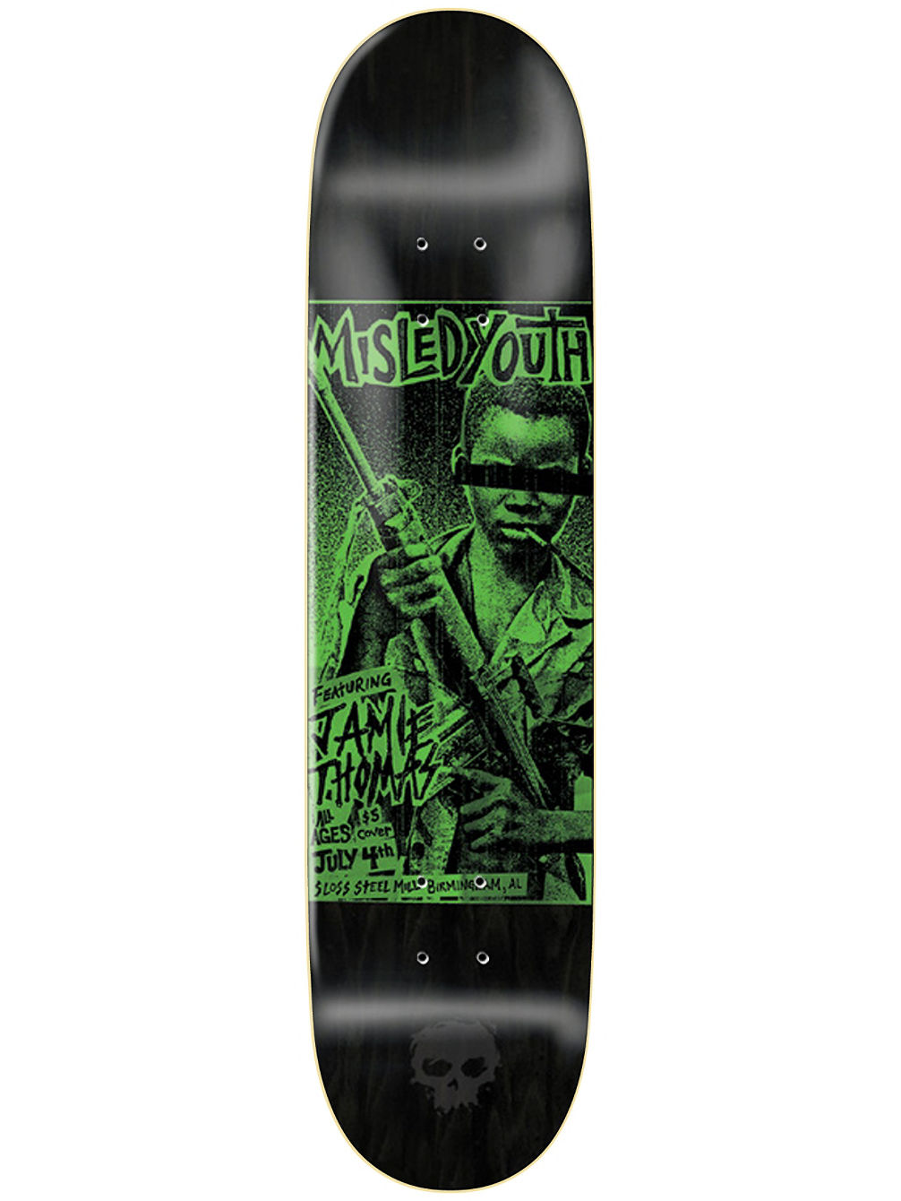 "Thomas Punk Flyer 8.0"" Skate Deck"